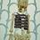 Mapoletan Skeleton Puppet rear 2
