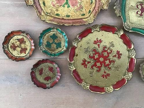18 Old Venetian Trays