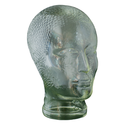 Original Vintage Heads - Glass