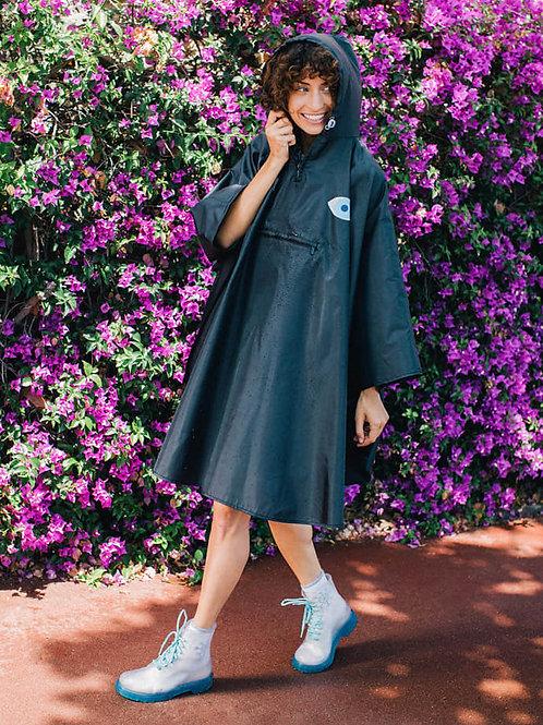 Black Yolo Eye Raincoat