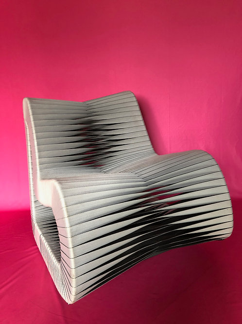 American modernist concept design bespoke rocking chair