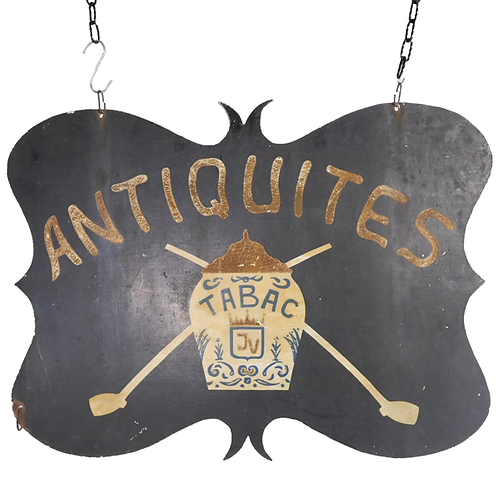 Antiques Trade Sign 1