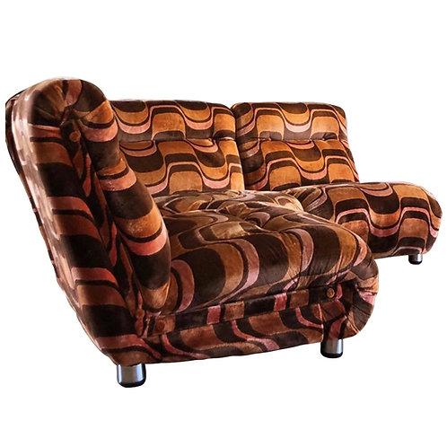 Milo Baughman Style Modular Sofa Suite 1