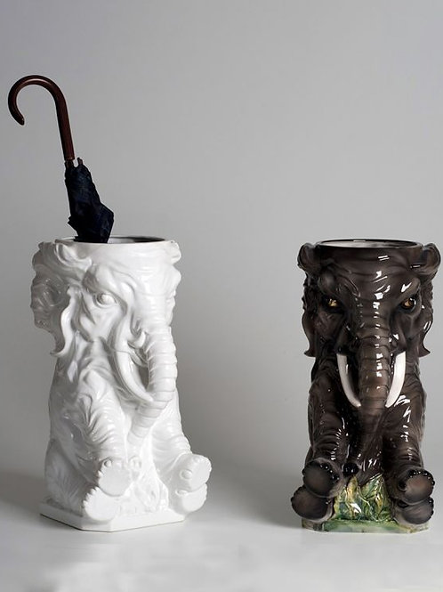 Ceramic Elephant Umbrella Stand / Planter