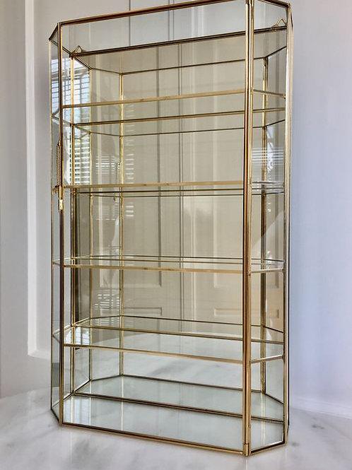 Italian Curio Display Cabinet/ Vitrine