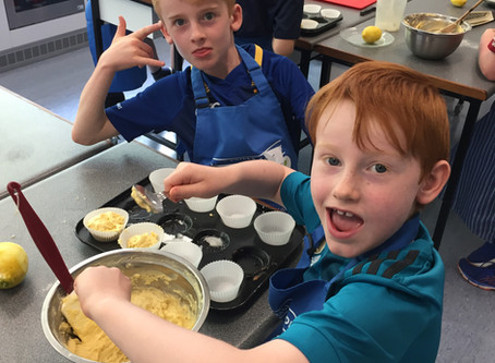 Camper Friendly Lemon Drizzle Cupcakes- Try This At Home!