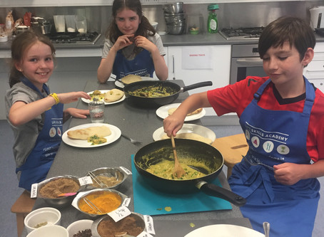 Campers 8 -14 Made This Child Friendly Pad Thai Dish.