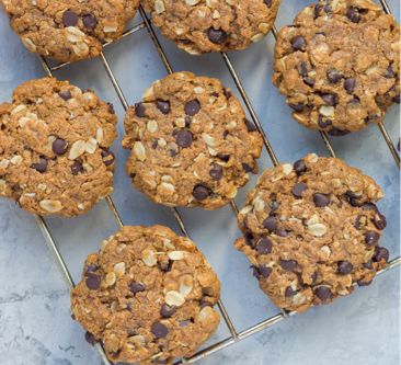Chocolate Chunk Oatmeal Cookies- Another Camper Favourite!