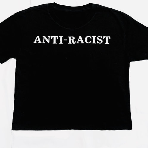 Anti-Racist Crop Top (Adult)