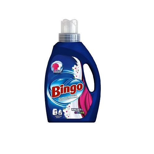 Bingo Whites & Colours Detergent 1.20L