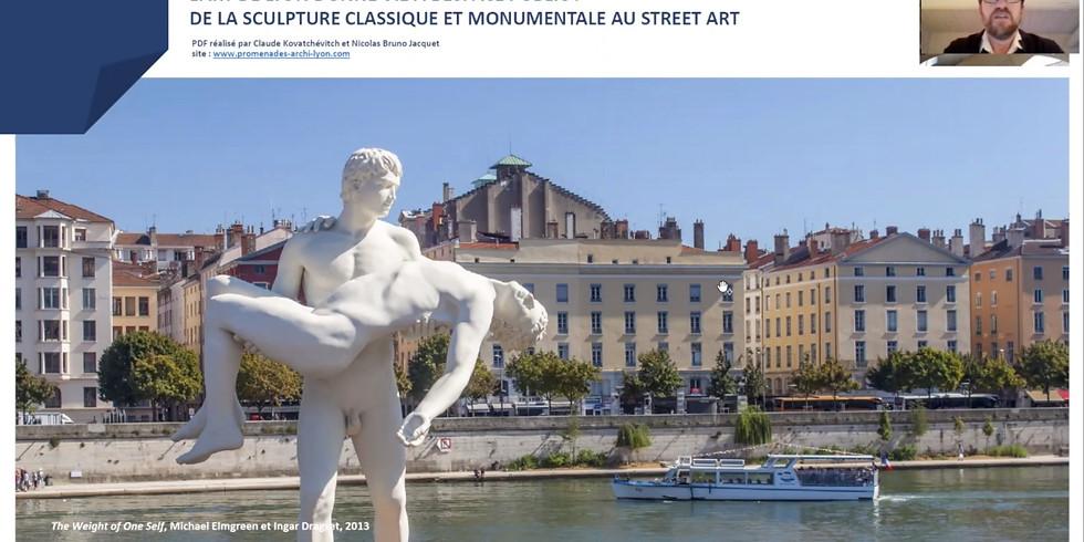 Visioconférence archive - UNE HISTOIRE DE L'ART DANS L'ESPACE PUBLIC À LYON