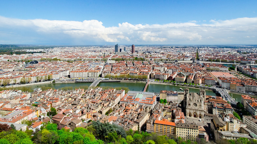Visite guidée Lyon - panorama depuis Fourvière