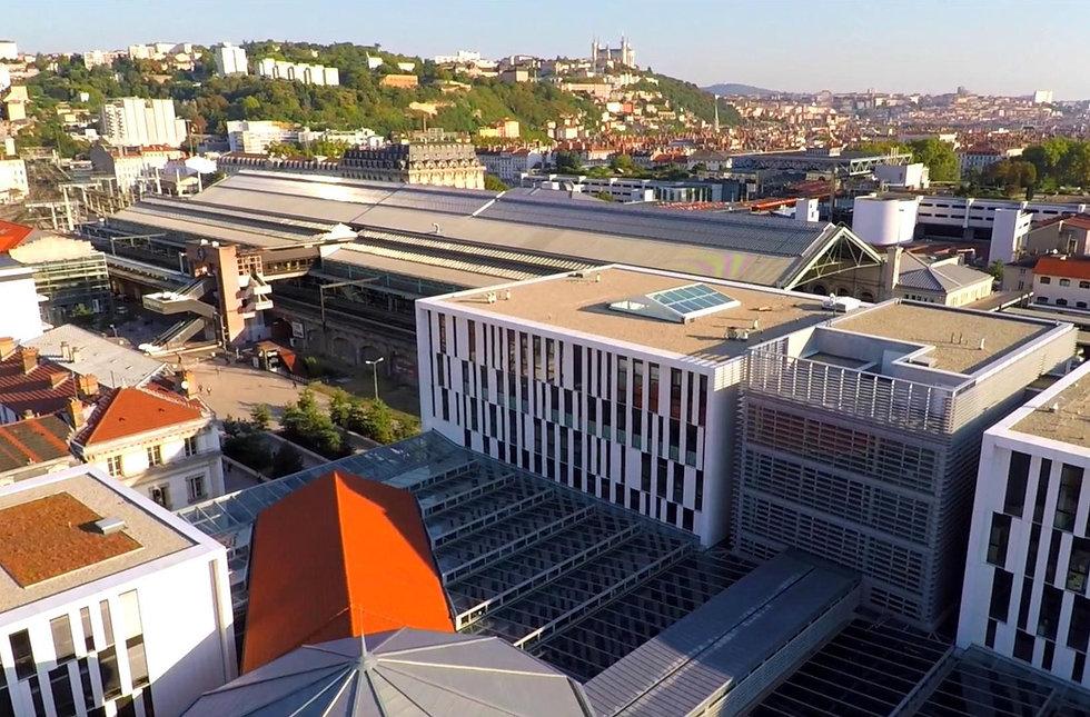 Perrache Université Gare visite guidée Lyon