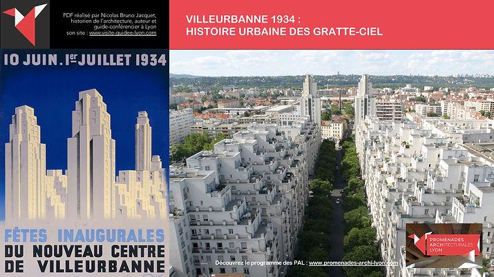 PAL - VILLEURBANNE 1934 - HISTOIRE URBAINE DES GRATTE-CIEL - Promenades architecturales Lyon © Nicolas Bruno Jacquet