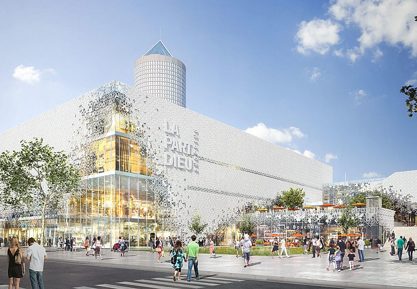 Nouvea centre commercial de la Part-Dieu MVRDV