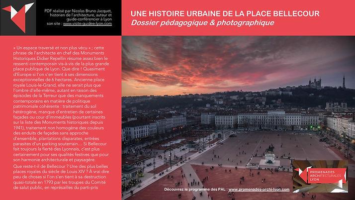 Une histoire urbaine de la place Belleco