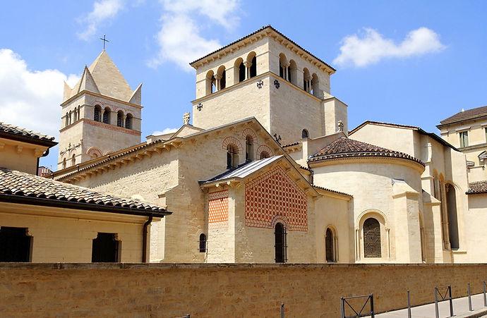 Basilique_Saint-Martin_d'Ainay Visite guidée N°20 Le quartier d'Ainay