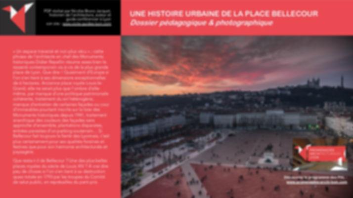 Une histoire urbaine de la place Bellecour Nicolas Bruno Jacquet www.promenades-archi-lyon.com
