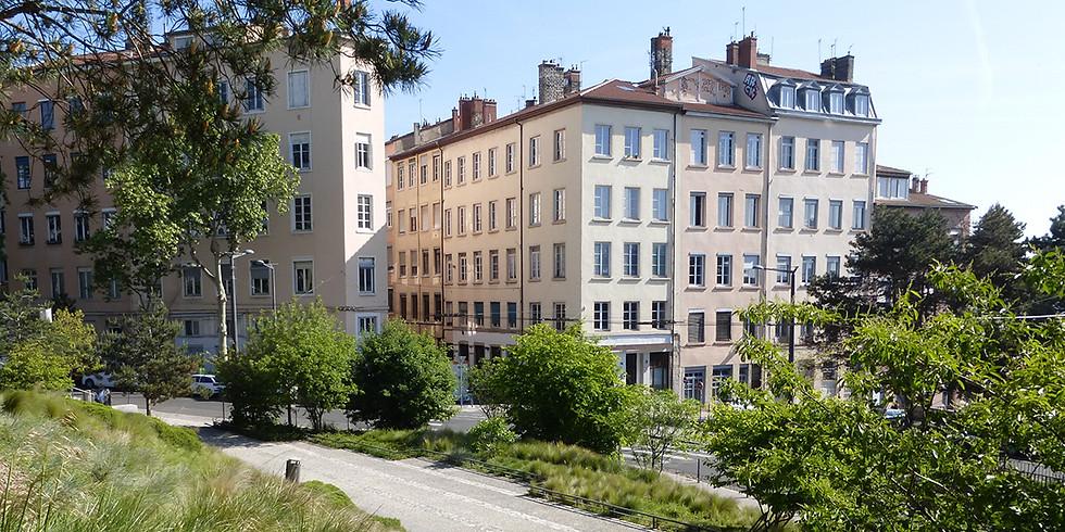 CROIX-ROUSSE : L'IMMEUBLE-ATELIER CANUT À L'ASSAUT DES PENTES