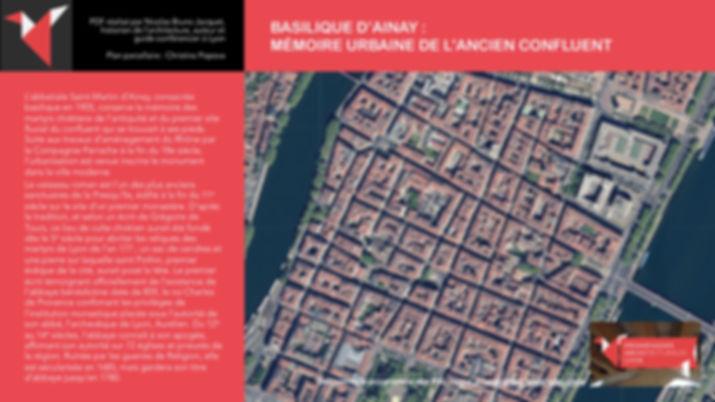 PAL - BASILIQUE D'AINAY - MÉMOIRE URBAINE DE L'ANCIEN CONFLUENT - Nicolas Bruno Jacquet www.promenades-archi-lyon.com