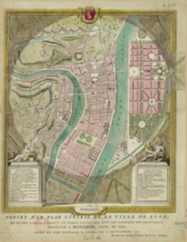 Paln Morand 1764