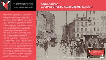 PAL - CROIX-ROUSSE - LA GRANDE-RUE DU FAUBOURG MÈNE À LYON www.promenades-archi-lyon.com