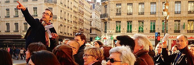 Viste guidée de Lyon avec Nicolas Bruno Jacquet
