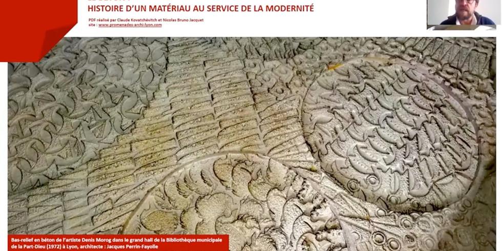 Visioconférence archive - LE BÉTON: HISTOIRE D'UN MATÉRIAU AU SERVICE DE LA MODERNITÉ