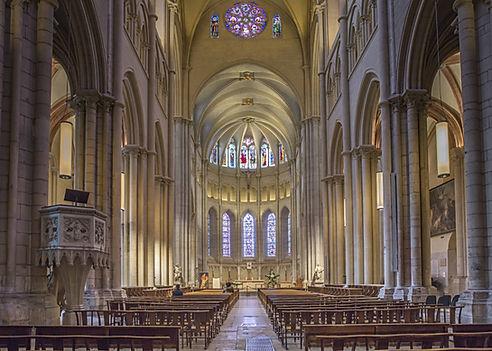 nef cathdrale Saint-Jean Lyon