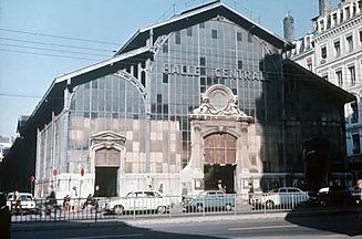 Anciennes Halles centrales de Lyon place des Cordeliers