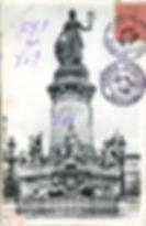Monument à la Gloire de la République Place Carnot Visite guidée Lyon