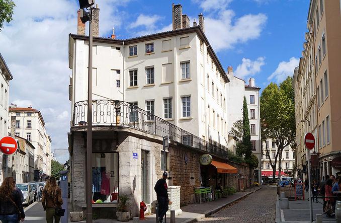 Rue Fleurieu - Rue Charité Visite guidée N°20 Le quartier d'Ainay