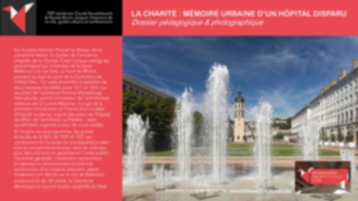 LA CHARITÉ - MÉMOIRE URBAINE D'UN HÔPITAL DISPARU - Claude Kovatchévitch + Nicolas Bruno Jacquet www.promenades-archi-lyon.com