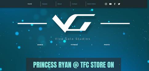 Viva Gala: Logo | Web Design | Content Creation | SEO