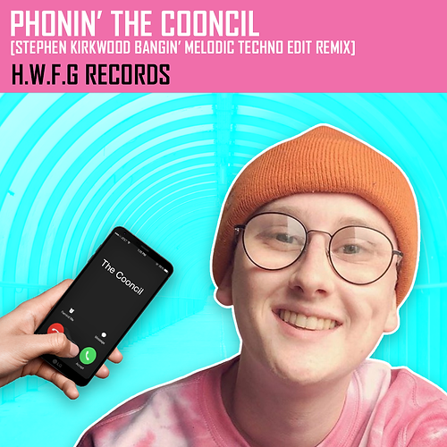 Phonin' The Cooncil 1080 x 1080 Instagra