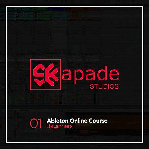 SKapade Ableton beginners course