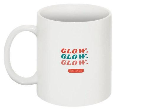 Glow, Glow, Glow 11 oz. Mug - White