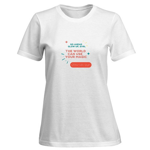 Women's premium Glow Gyrl, Glow  T-shirt