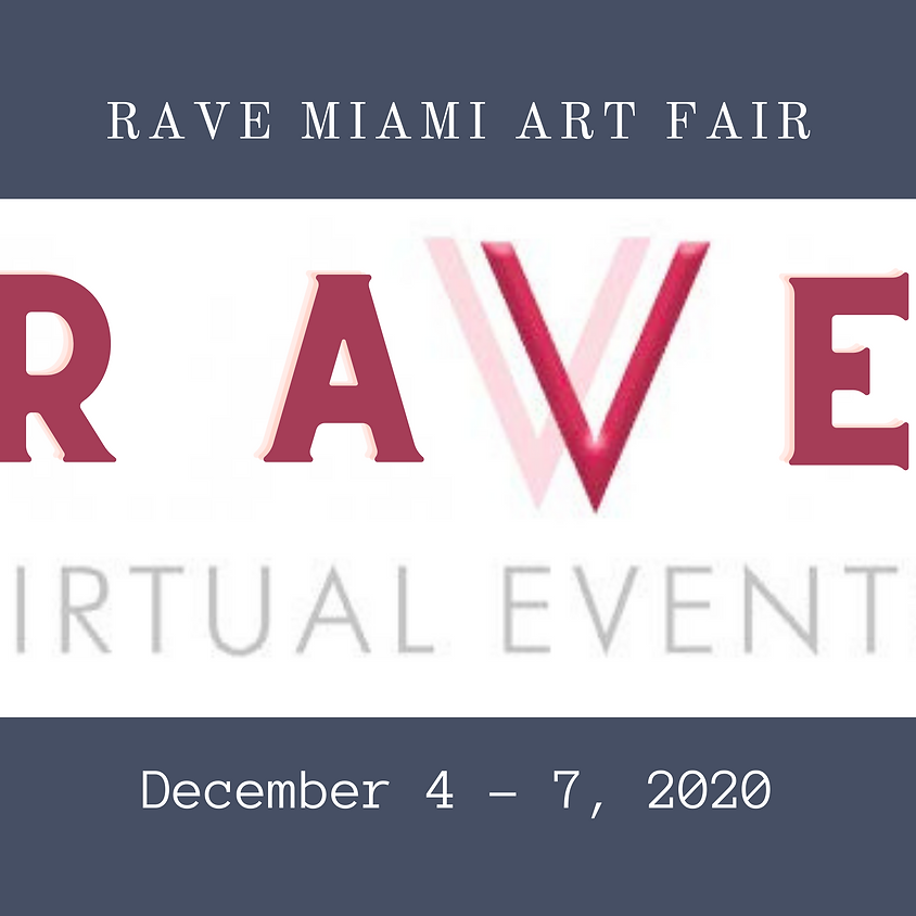 RAVE Miami Art Fair 2020