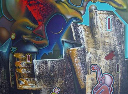 Alex Shabatinas Debuts His New Works at Artios Gallery