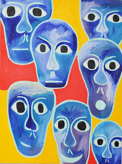 Seven Faces by Jack Caserta