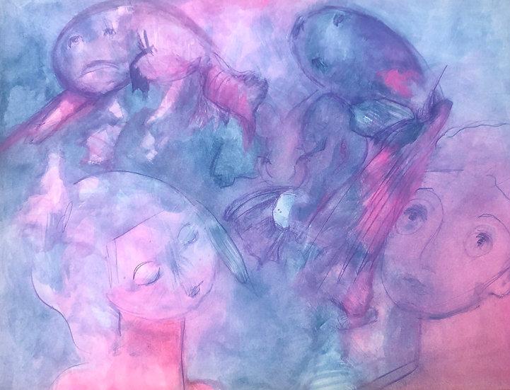 The Dream by Elena Zelenina