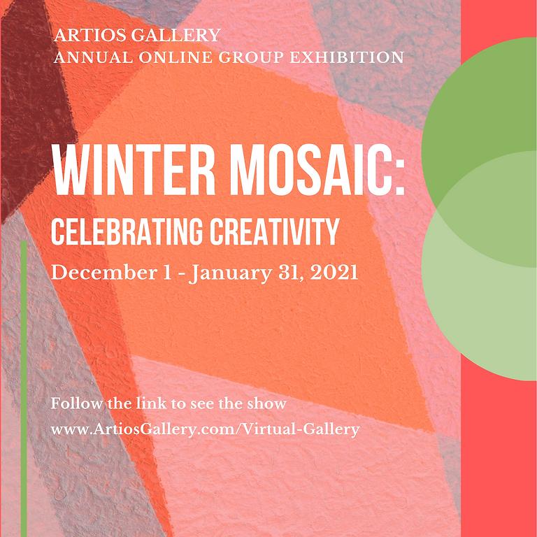 Winter Mosaic: Celebrating Creativity.