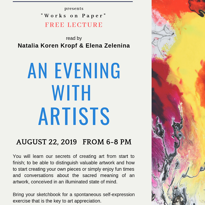 An Evening With Artists