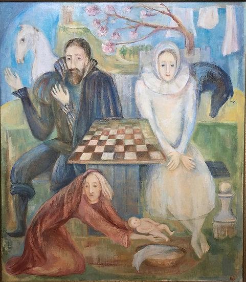 Chess Players by Marina Kalinovsky