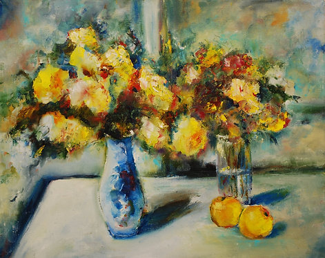 """""""Flowers on the Window"""" by Alexander Dudorov"""