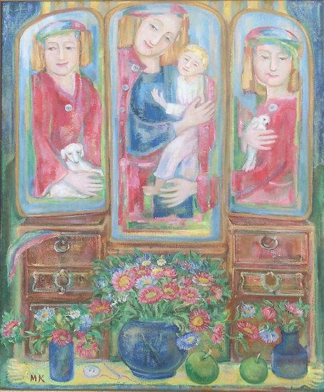 Three Leaf Mirror BY Marina Kalinovsky