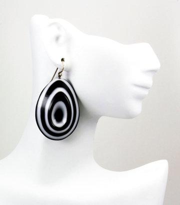 Custom earrings by Vladimir Deming