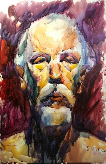 Three hours Alla Prima watercolor portraits