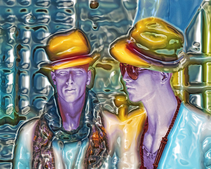 Men in Hats by Cecil W. Lee / USA